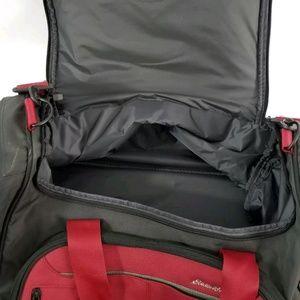 0375fda00d Eddie Bauer Bags - Eddie Bauer Quality Rolling Duffel Bag 30x12x15